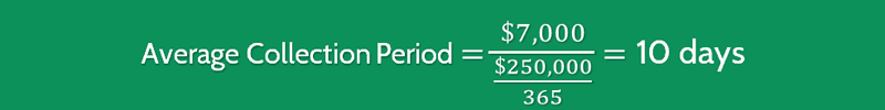 Average Collection Period Calculation 1