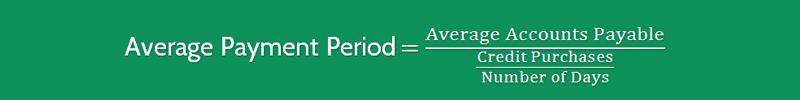 Average Payment Period Formula