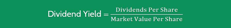 Dividend Yield Ratio Formula 1