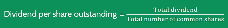 Dividend Yield Ratio Calculation