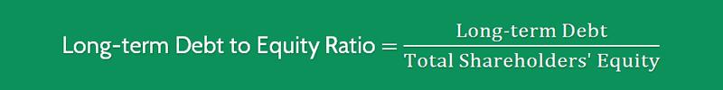 Long term Debt to Equity Ratio Formula