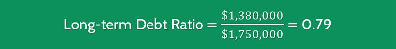 Long Term Debt Ratio Formula 2